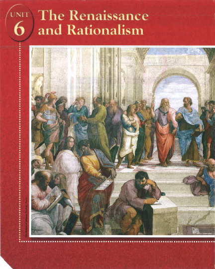 Renaissance and Rationalism