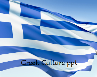Greek Culture ppt