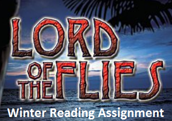 Lord of the Flies Winter Reading Assignment